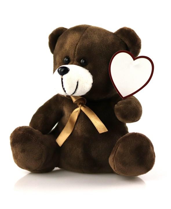 Idée cadeau - Ourson message d'amour personnalisé - Max le Fleuriste