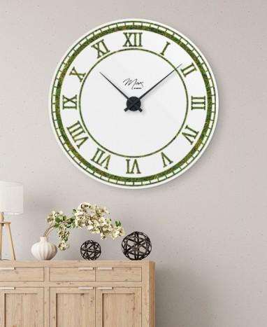 Cadre Horloge végétalisée • Max le Fleuriste  - Max le Fleuriste