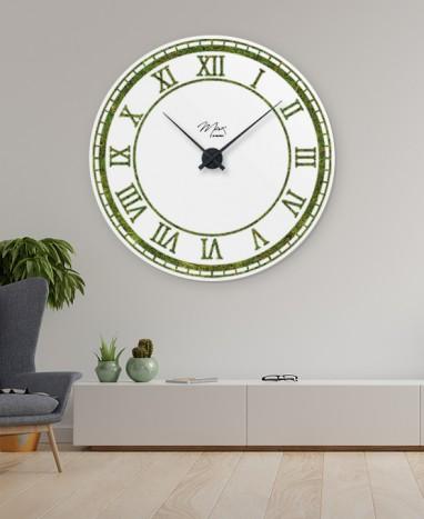 Cadre Horloge végétalisée 135 cm • Max le Fleuriste  - Max le Fleuriste