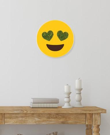 Cadre végétalisé Emoji Cœur • Max le Fleuriste  - Max le Fleuriste