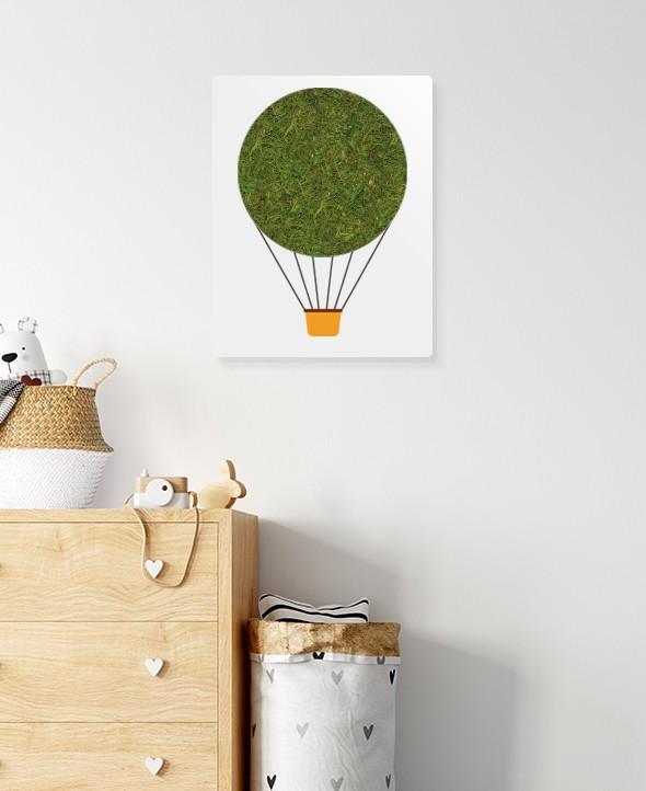 Cadre végétalisé Ballon • Max le Fleuriste