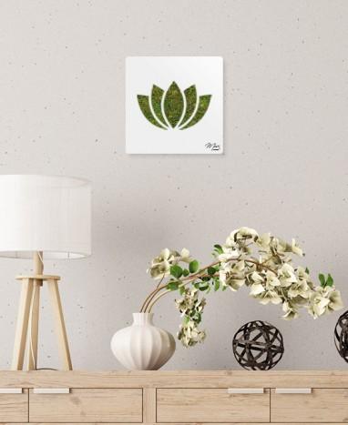 Cadre végétalisé Lotus • Max le Fleuriste  - Max le Fleuriste