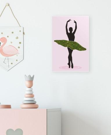 Cadre végétalisé danseuse étoile • Max le Fleuriste - Max le Fleuriste