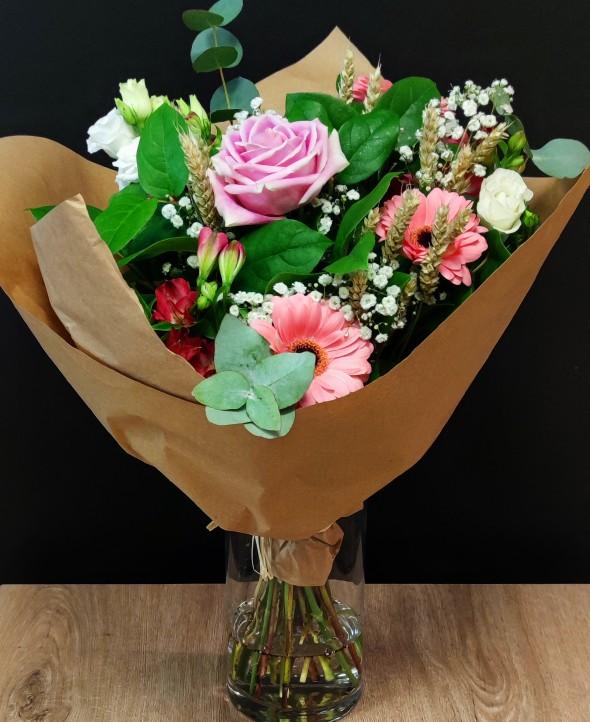 Bouquet de fleurs C'est le printemps