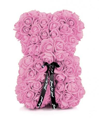 Ours Roses Artificielles Roses  - Max le Fleuriste
