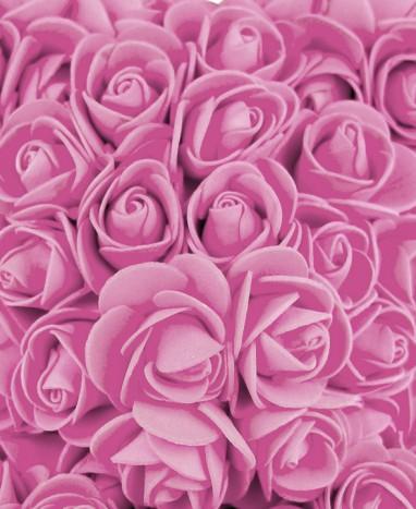 Ours Roses Artificielles Roses - Livraison de fleurs à domicile - Max le Fleuriste