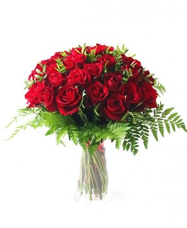 Bouquet de Roses Rouges • Max le Fleuriste - Max le Fleuriste