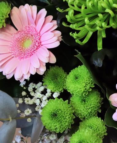 Parce que c'est toi - Bouquet de fleurs roses - Livraison de fleurs à domicile - Max le Fleuriste
