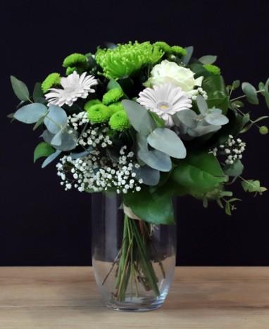 Coup de foudre - Bouquet de fleurs ronds - Max le Fleuriste
