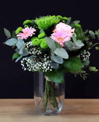 Parce que c'est toi - Bouquet de fleurs roses  - Max le Fleuriste