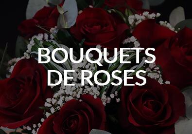 Les bouquets de roses - Max le Fleuriste